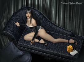 She, the guest... by fkdesign