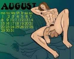 August 2005 Calendar by AndyVines