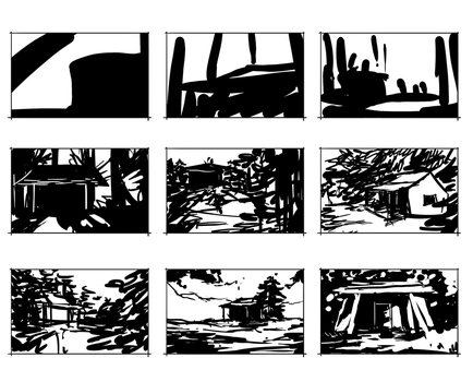 Cabin Thumbnails by TheKunterbunter