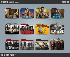 TV Series Folder ICON Pack 7 by kasbandi