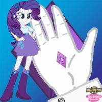Rarity Equestria Girls Crest of Generosity by Sasami87
