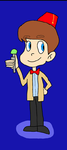 Halloween '16: Jimmy Neutron as the 11th Doctor by Toongirl18