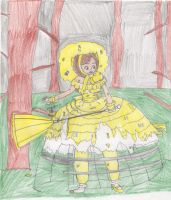 Yellow Azalea Trail Maid - Gone Missing by Aquateen510