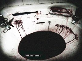 Wallpaper - Silent Hill: Blood by kaztelli