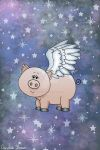 Angel Pig II by VioletDolphin