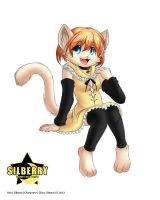 Comm: Cat Girl by Silberry