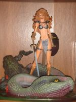 Red Sonja Turner Statue by kilp007