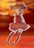 witch of the red sea by Panty-Sama