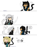 -- Lamento : Cat Fight -- by Kaishiru