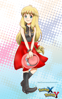 New Girl Pokemon XY by Mary-McGregor