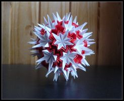 Kusudama 9 by lonely--soldier