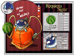 Requiem Signs - Yamada The 11th by 7-Days-Luck
