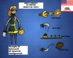 Mighty No 9 OC Reference: Poppy by AtomicPhoton