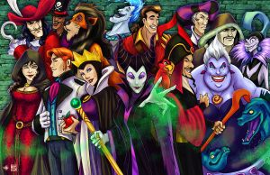Disney Villains Group by TyrineCarver