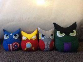 Avenge Owls Assemble by becleigh