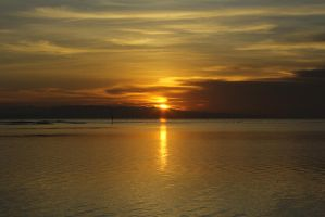 Sunrise @Sanur, Bali by Estonteco