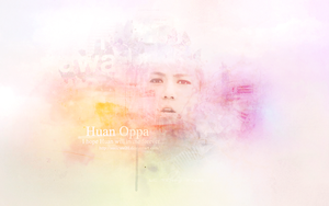 Wallpaper Huan Oppa (Sehun EXO-K) Colorful by susicute21