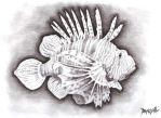 lion fish by dragseal