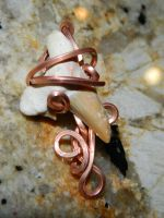 Shark tooth in copper by DPBJewelry