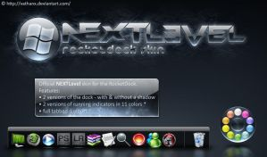 NEXTLevel RocketDock Skin by Vathanx