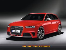 THE NEW AUDI RS4 AVANT by MOMOYAK by MOMOYAK