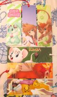 Bookmarks for sale! by Nyaasu