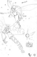 Navi Humanized Sketches by BronzetheSling