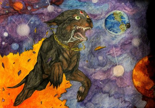 CosmoDog by David-LaCroix