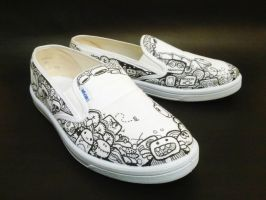 Doodle Shoes by flyingblind