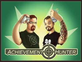 Achievement Hunters by NGAbominableGod