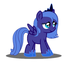 Filly Luna by Cloudy-Dreamscape