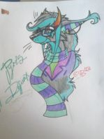 HEY LOOK, SOMETHING TRADITIONAL AND NOT HOMESTUCK! by ashleg4ever