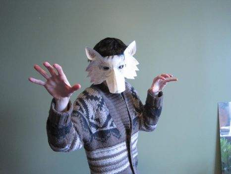 The 15-Minute Wolf Mask by Goldenspring