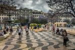 sweet Portugal - central square in Lisbon by Rikitza