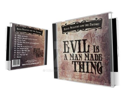 SS and The Factory CD package by tale026