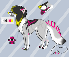 Scenedog Adoptable 2 (AUCTION!) [CLOSED] by Xecax
