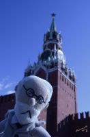 Freud and the Spasskaya Tower by ManonMorel