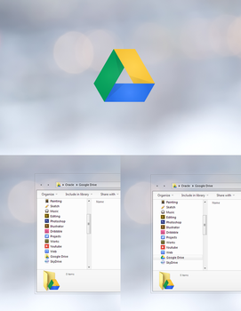 Google Drive icon by Draganja