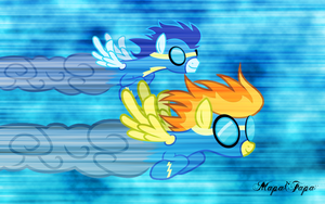 Wonderbolts Wallpaper by MapaFapa