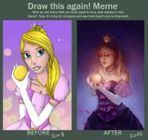 Draw this Again Meme by PetraImboden
