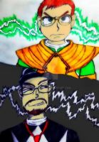 NC and Linkara our hero by Emmybomber