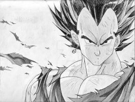 Vegeta(potara earring) by Me and Boldouzer by TheZingar
