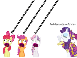 Cutie Mark Crusader Shape Note Singers YAY! by sparklepeep