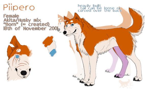 PIIPERO ref sheet 2013 by pirta