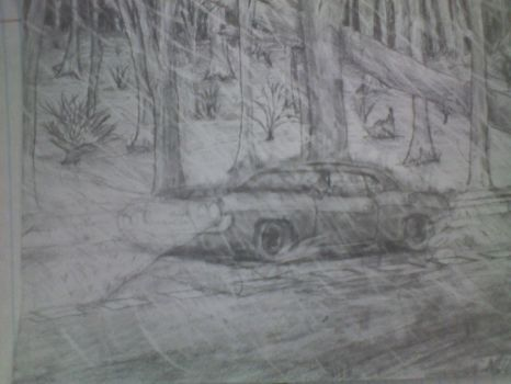 1970 Dodge Challenger: Stormy Night by pureawesomeness1234
