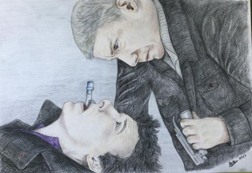 Trust - paralysed Sherlock by Sparkypip