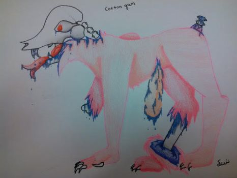 Cotten Gum Candy Gore by A-wolf-called-smokey