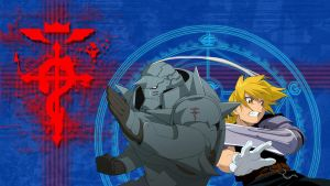 Fullmetal Alchemist Flamel Wallpaper by B1itzsturm