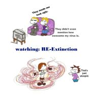 Watching RE-Extinction by donatien1740