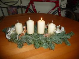 advent wreath by two-ladies-stocks
